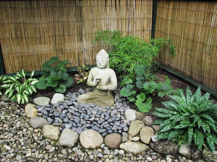 decoration jardin bouddha