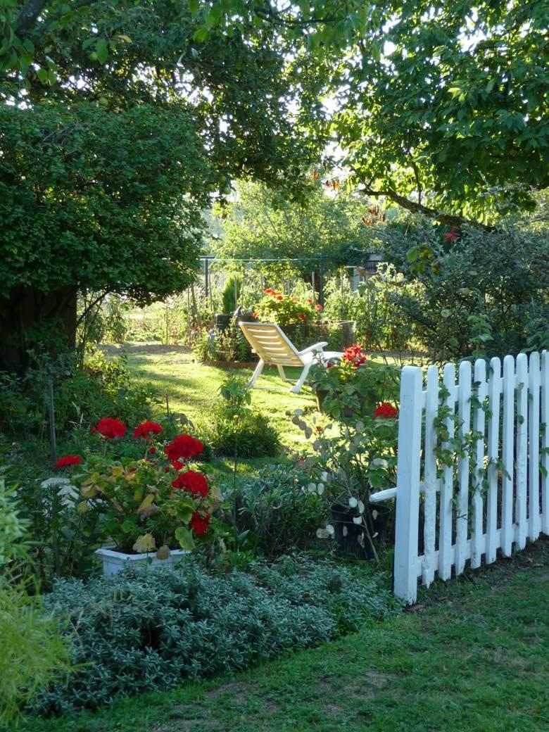 decoration jardin campagne