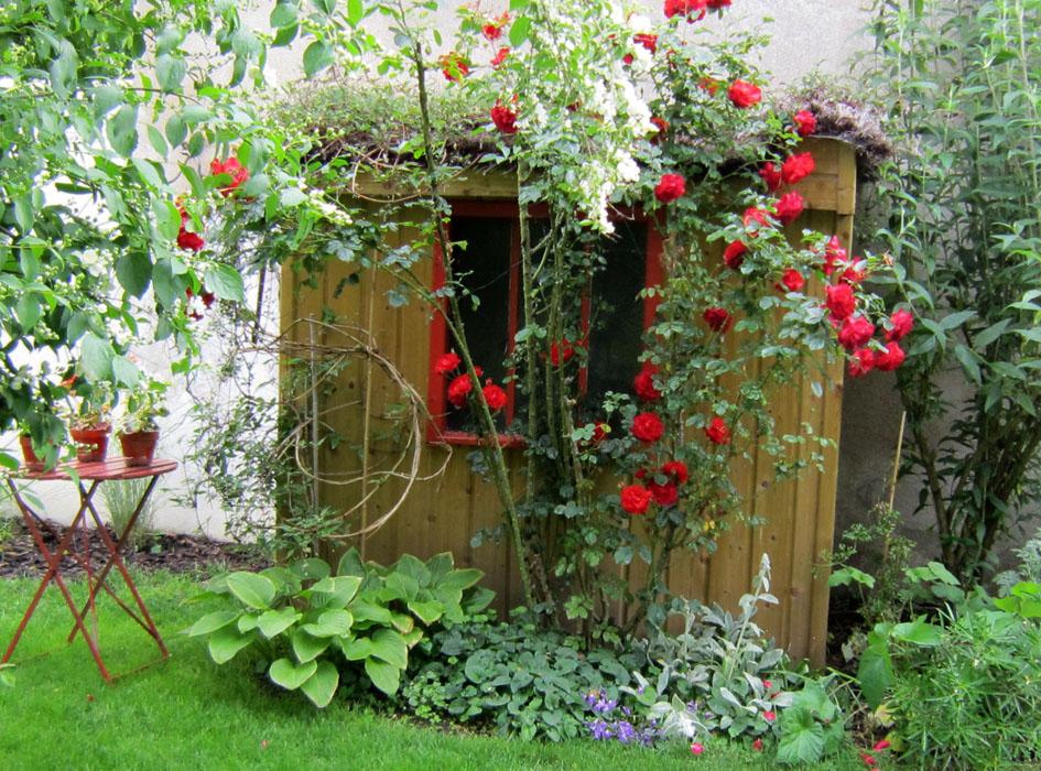 Decoration Jardin Champetre