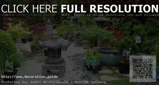 decoration jardin chinois