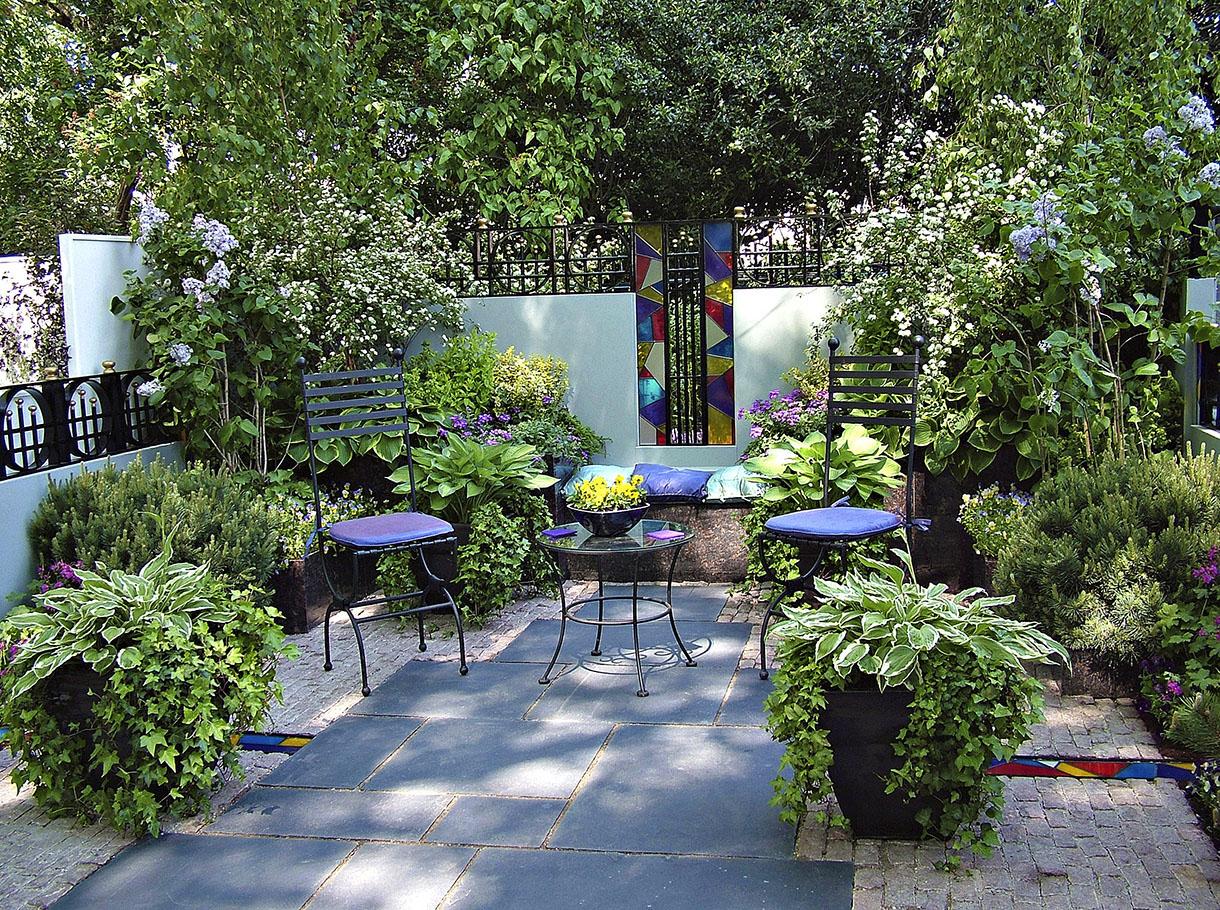 decoration jardin de 50m2