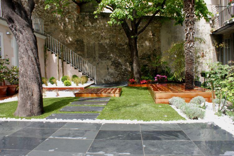 decoration jardin de ville