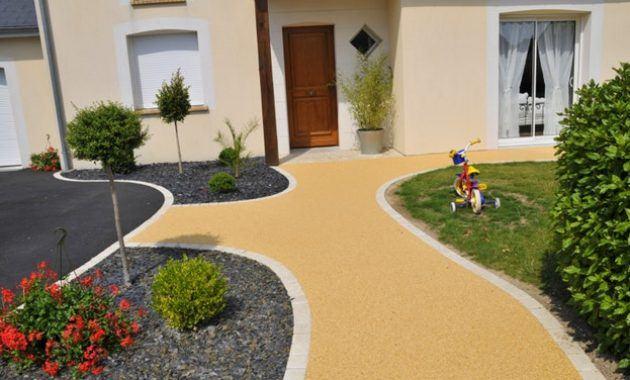 decoration jardin devant maison