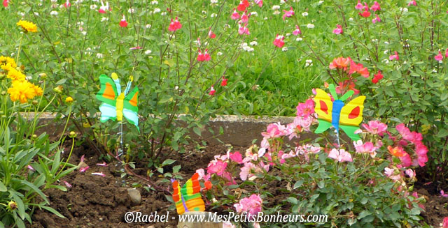 decoration jardin ecole