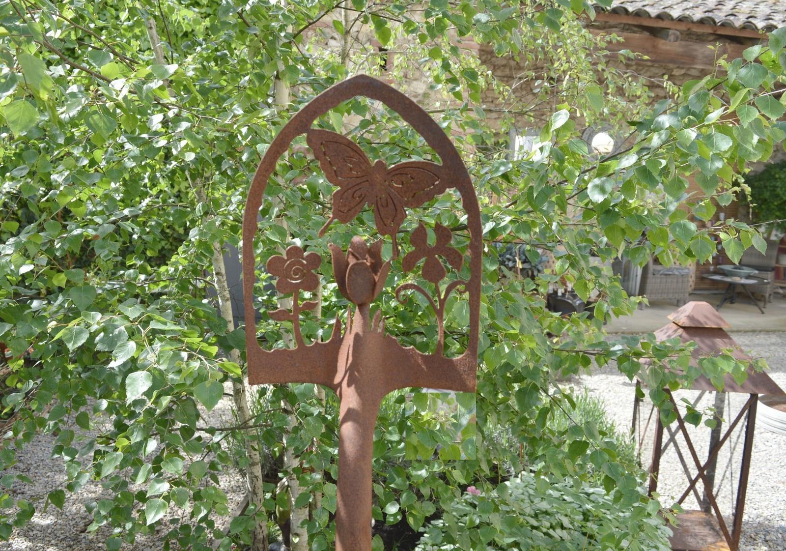 Decoration jardin en fer forge - Objet decoration jardin ...