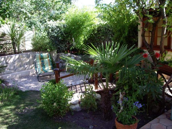 decoration jardin exotique