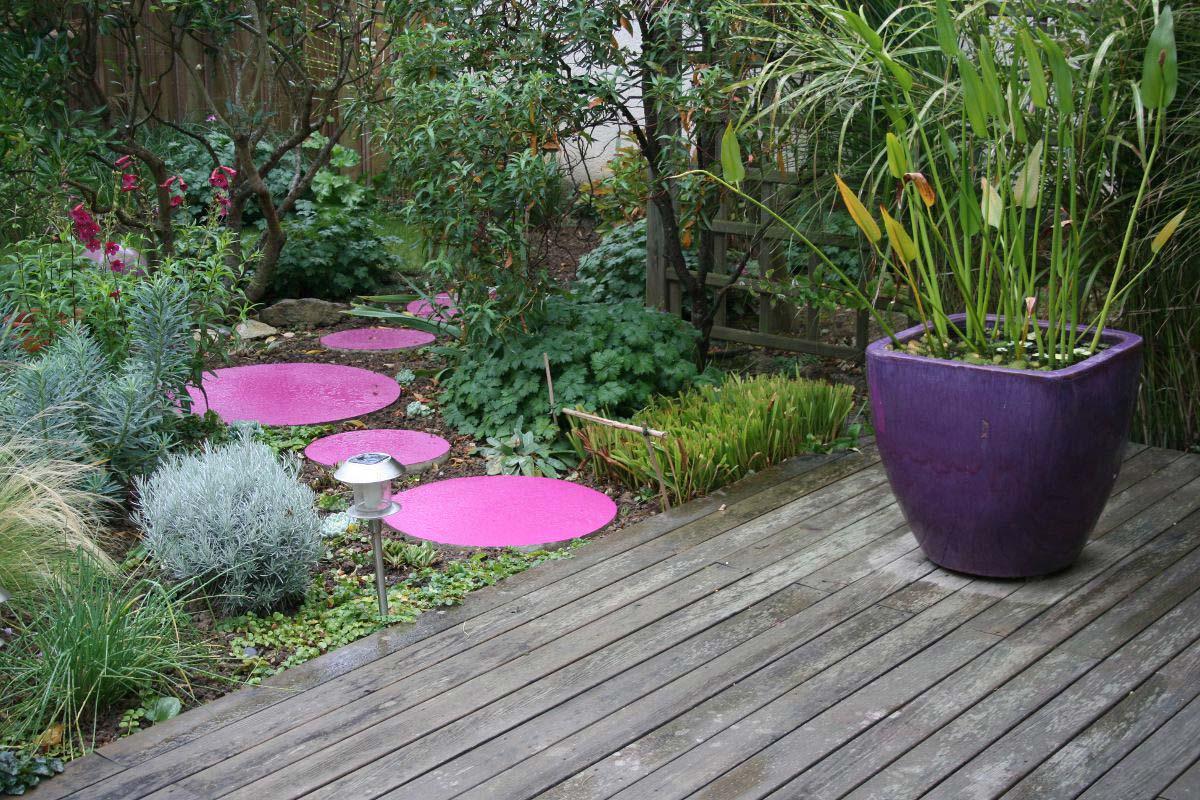 decoration jardin exterieur poterie