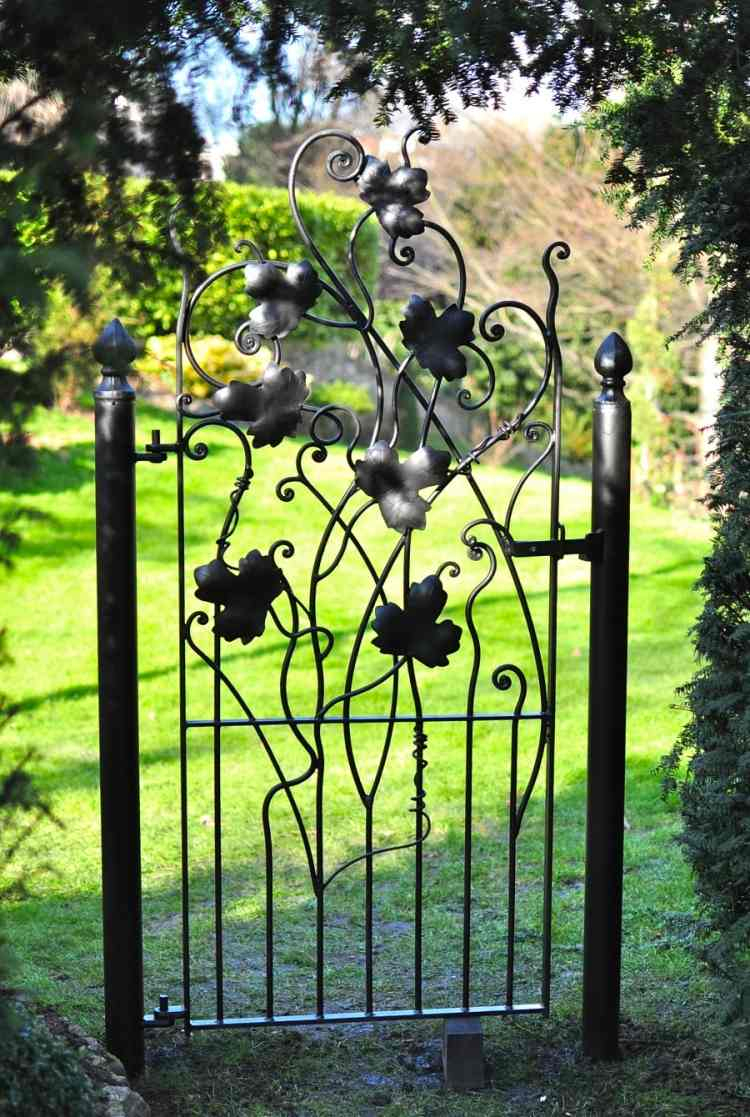 decoration jardin fer forge