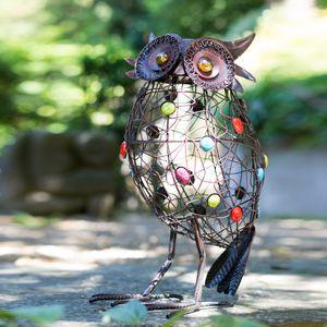 decoration jardin hibou