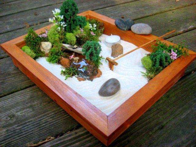 decoration jardin japonais miniature