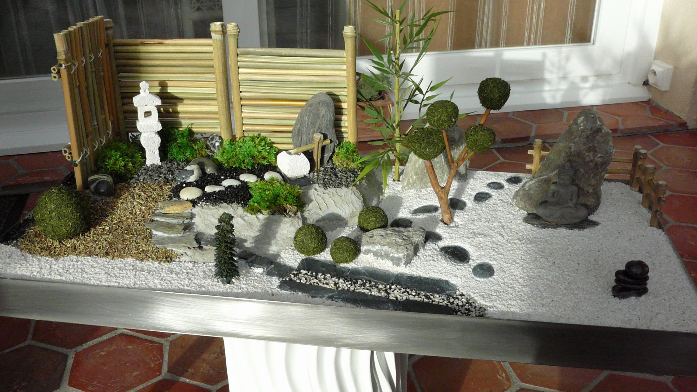 Decoration jardin japonais miniature - Decoration japonaise pour jardin ...