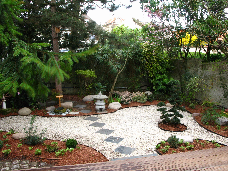 decoration jardin japonais zen