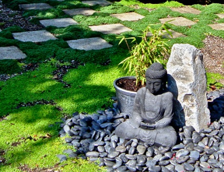 decoration jardin japonais