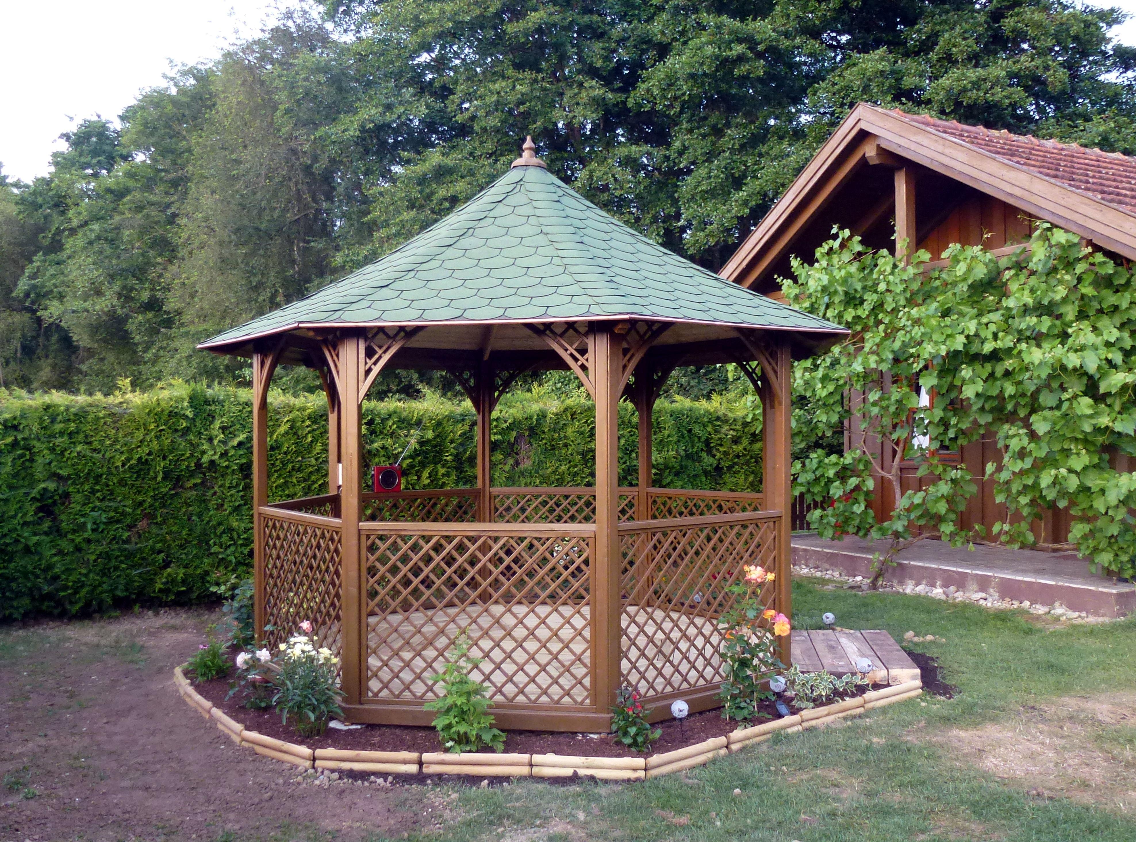 Decoration Jardin Kiosque