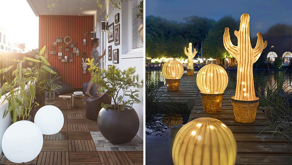 Decoration Jardin Lumineuse