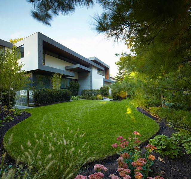 decoration jardin luxe