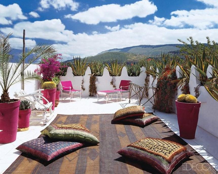decoration jardin marocain