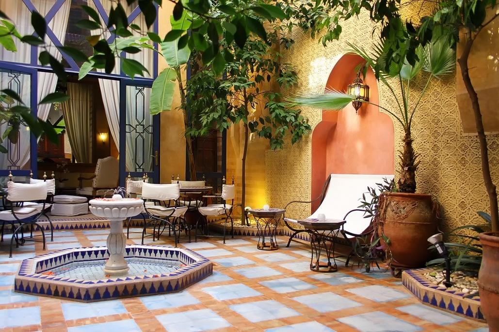 decoration jardin marocain. Black Bedroom Furniture Sets. Home Design Ideas