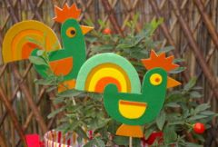 decoration jardin maternelle