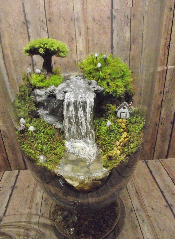 decoration jardin miniature