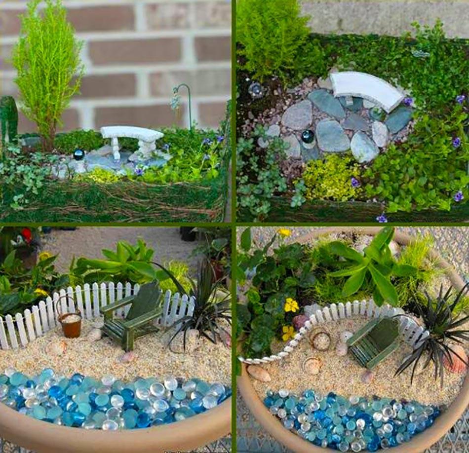 decoration jardin miniature