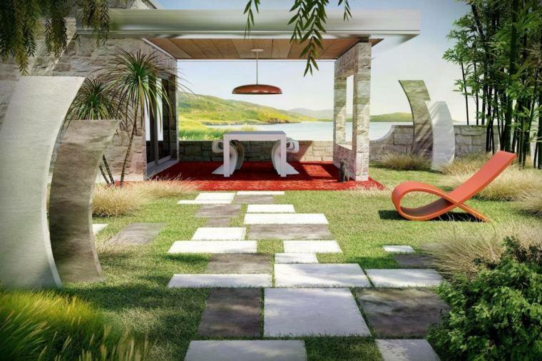 decoration jardin moderne - Jardin Moderne
