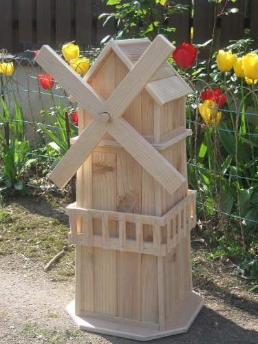 Decoration jardin moulin en bois - Decoration de jardin a fabriquer ...