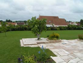 decoration jardin normandie