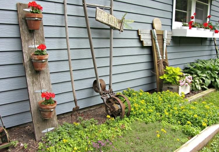 decoration jardin outils