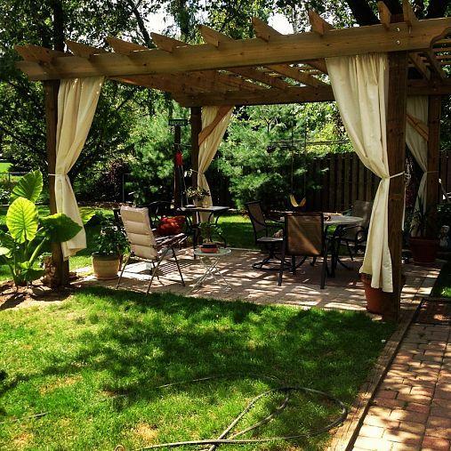 decoration jardin pergola