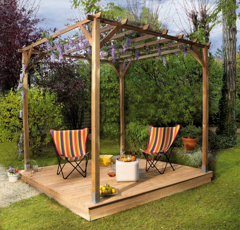 decoration jardin pergola