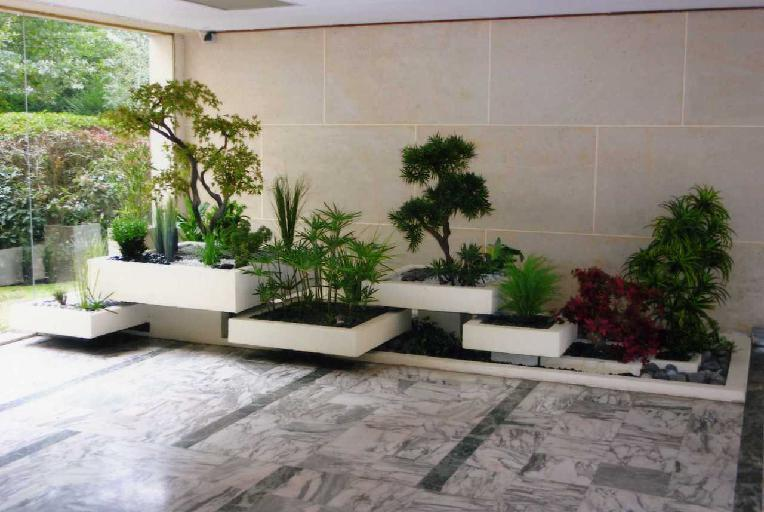 decoration jardin plante. Black Bedroom Furniture Sets. Home Design Ideas