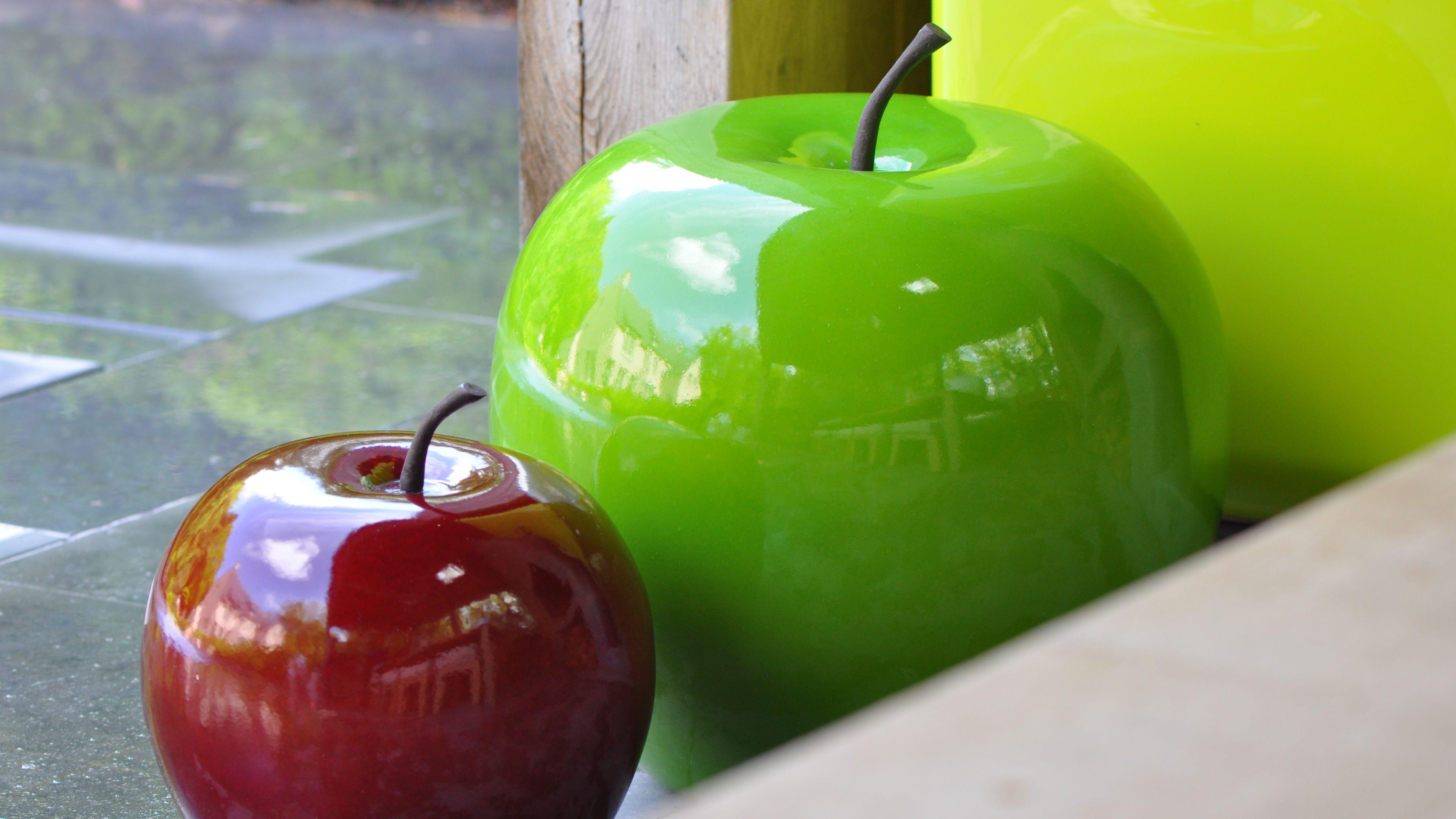 decoration jardin pomme