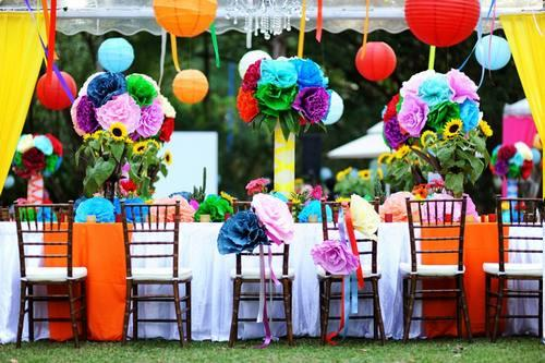 decoration jardin pour anniversaire adulte