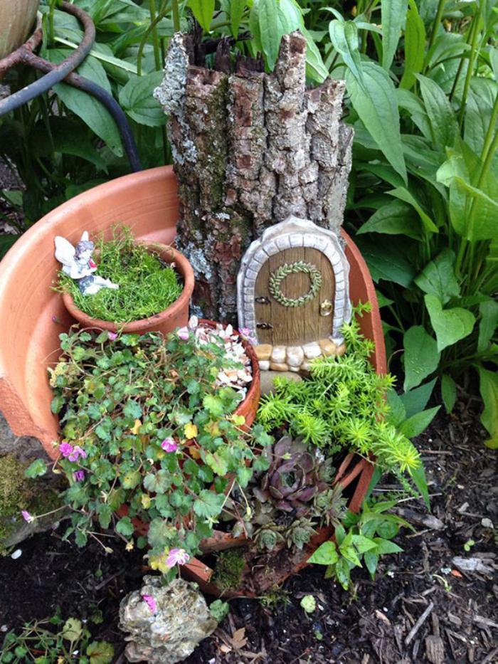 Decoration Jardin Recuperation