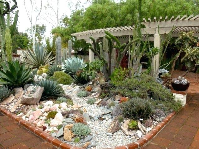 decoration jardin rocaille