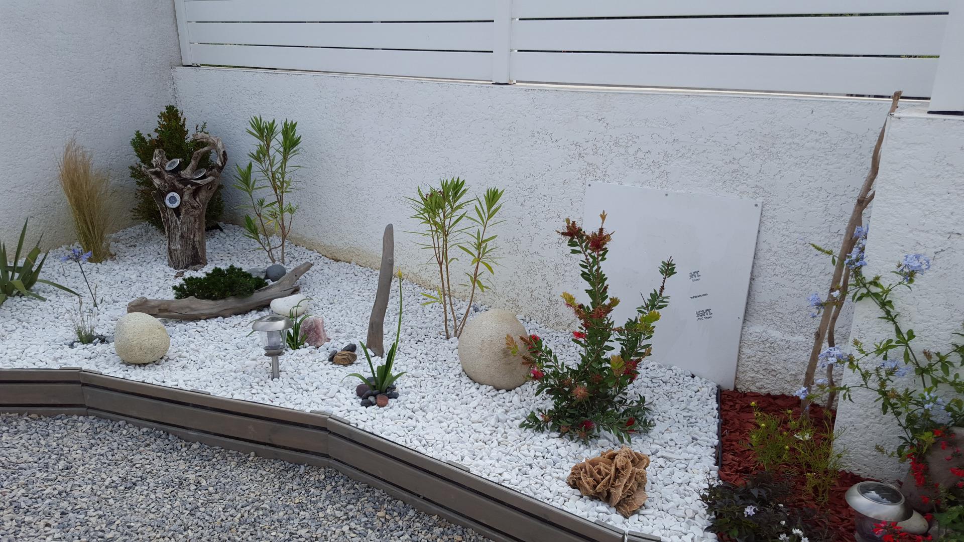 decoration jardin sec