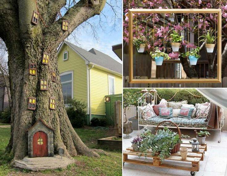 decoration jardin seconde main