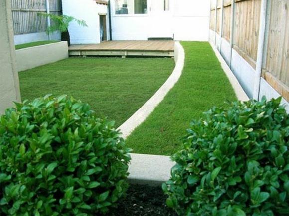 decoration jardin simple