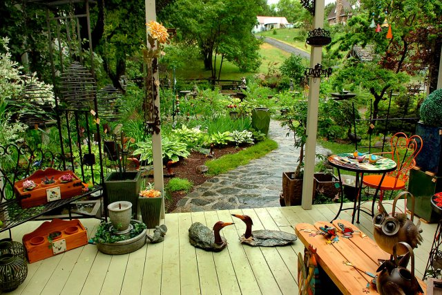 decoration jardin soleil