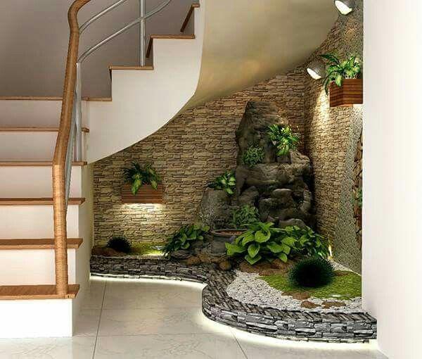 Decoration jardin sous escalier for Home design e decoro