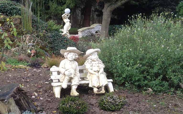 decoration jardin statue