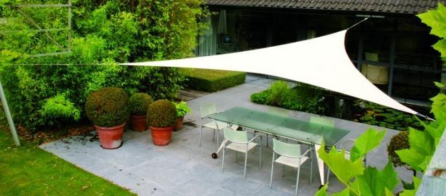 decoration jardin tissu