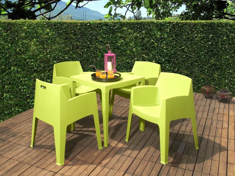 Beautiful Salon De Jardin Couleur Vert Contemporary - House Design ...