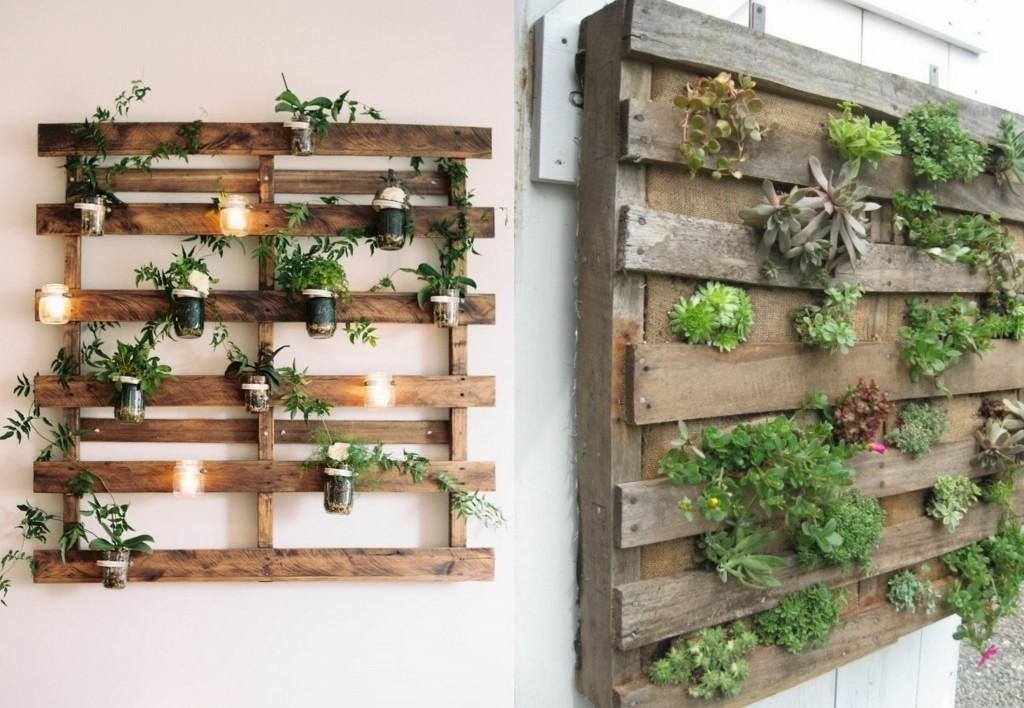 decoration jardin vertical