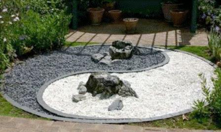 decoration jardin zen japonais
