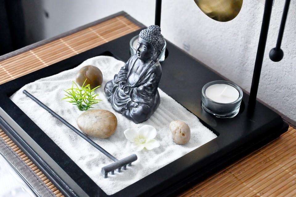 decoration jardin zen miniature. Black Bedroom Furniture Sets. Home Design Ideas