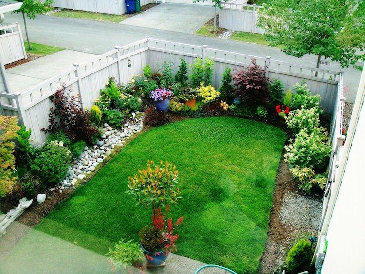 idee jardin 100m2