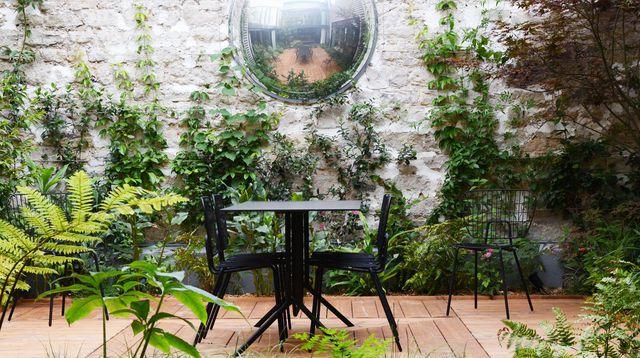 idee jardin 10m2. Black Bedroom Furniture Sets. Home Design Ideas