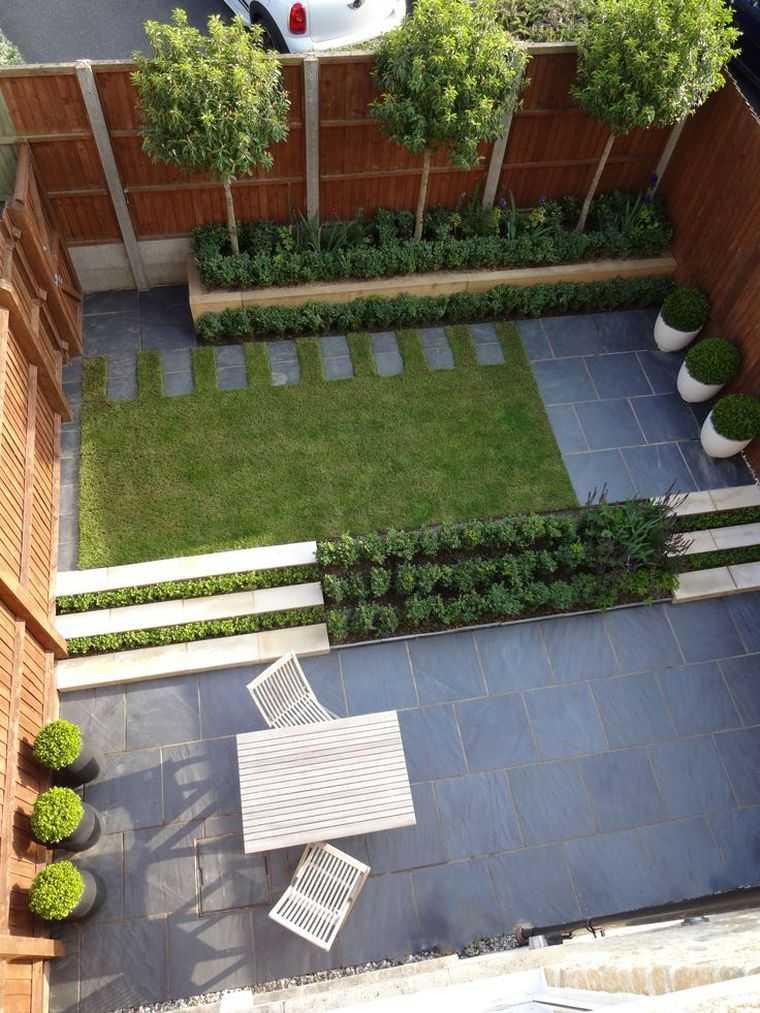 idee jardin 15m2